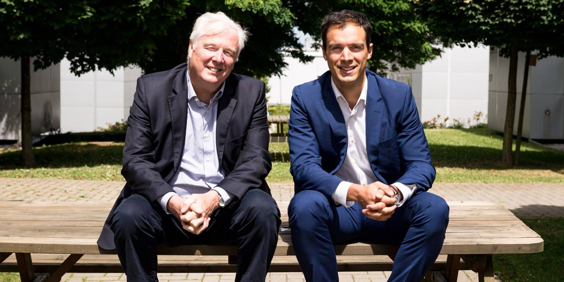Didier Vankeerberghen (co-CEO) et Jean-Charles Hebbelinck (Regional Manager)