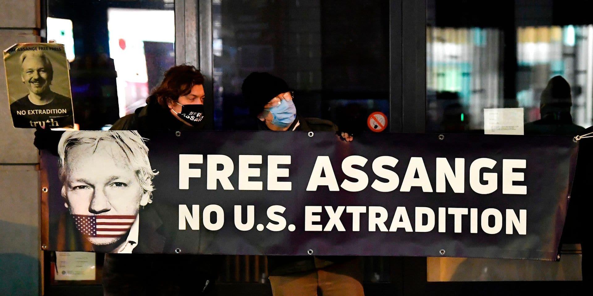 """""""Julian Assange n'est pas un criminel"""" : un rapporteur de l'ONU demande sa libération immédiate"""