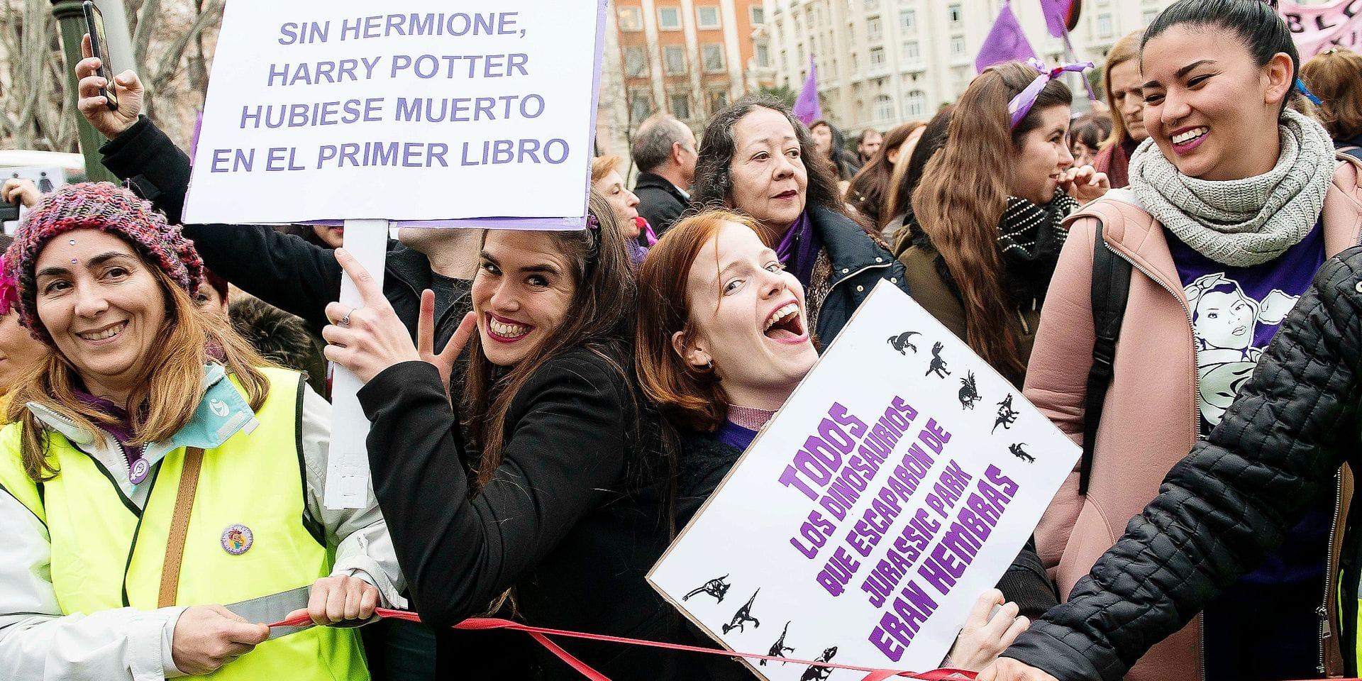 International Women's Day - Madrid