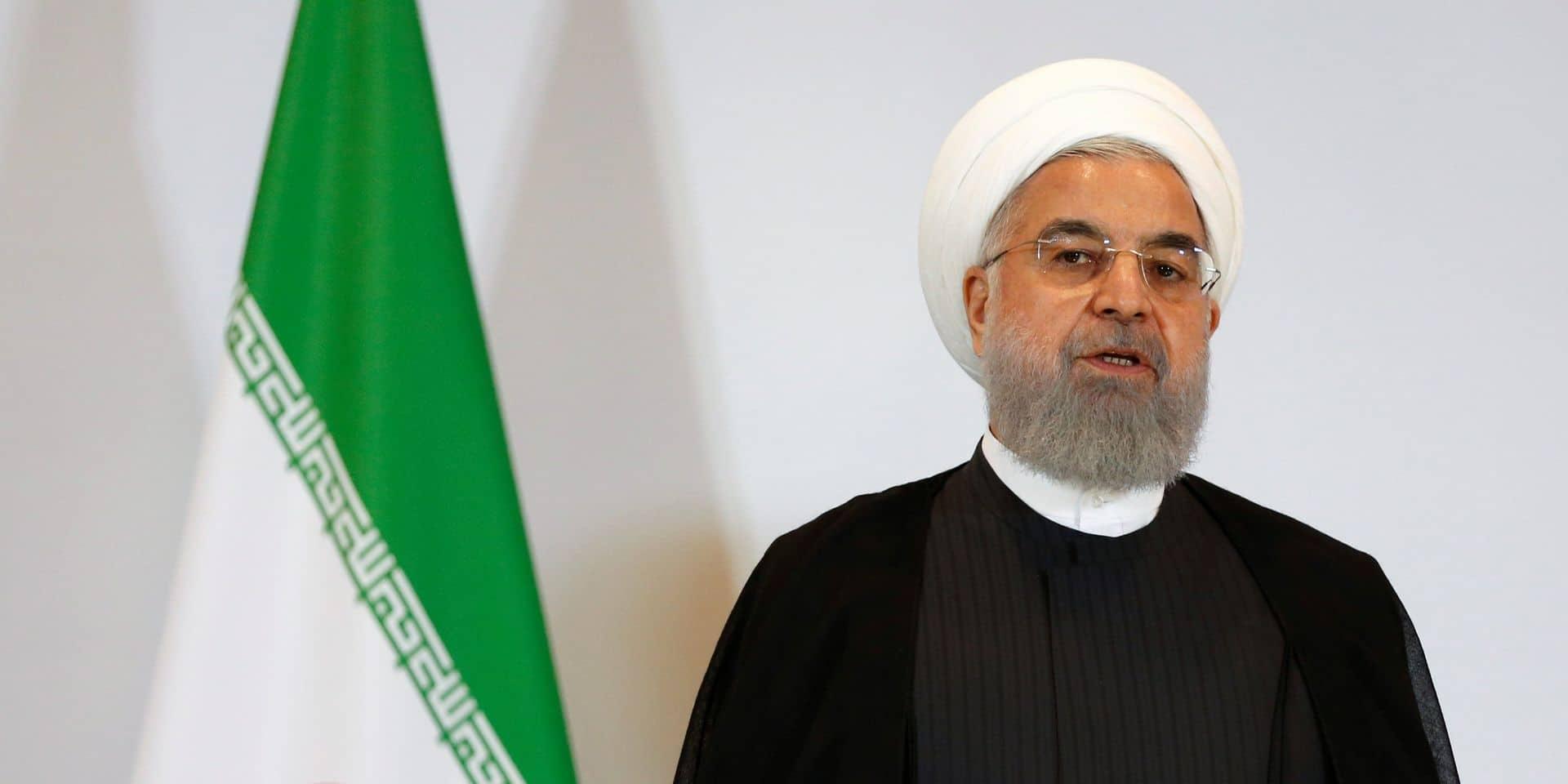 """Nucléaire iranien: plus qu'une """"volonté"""" pour aboutir avant août, dit Rohani"""