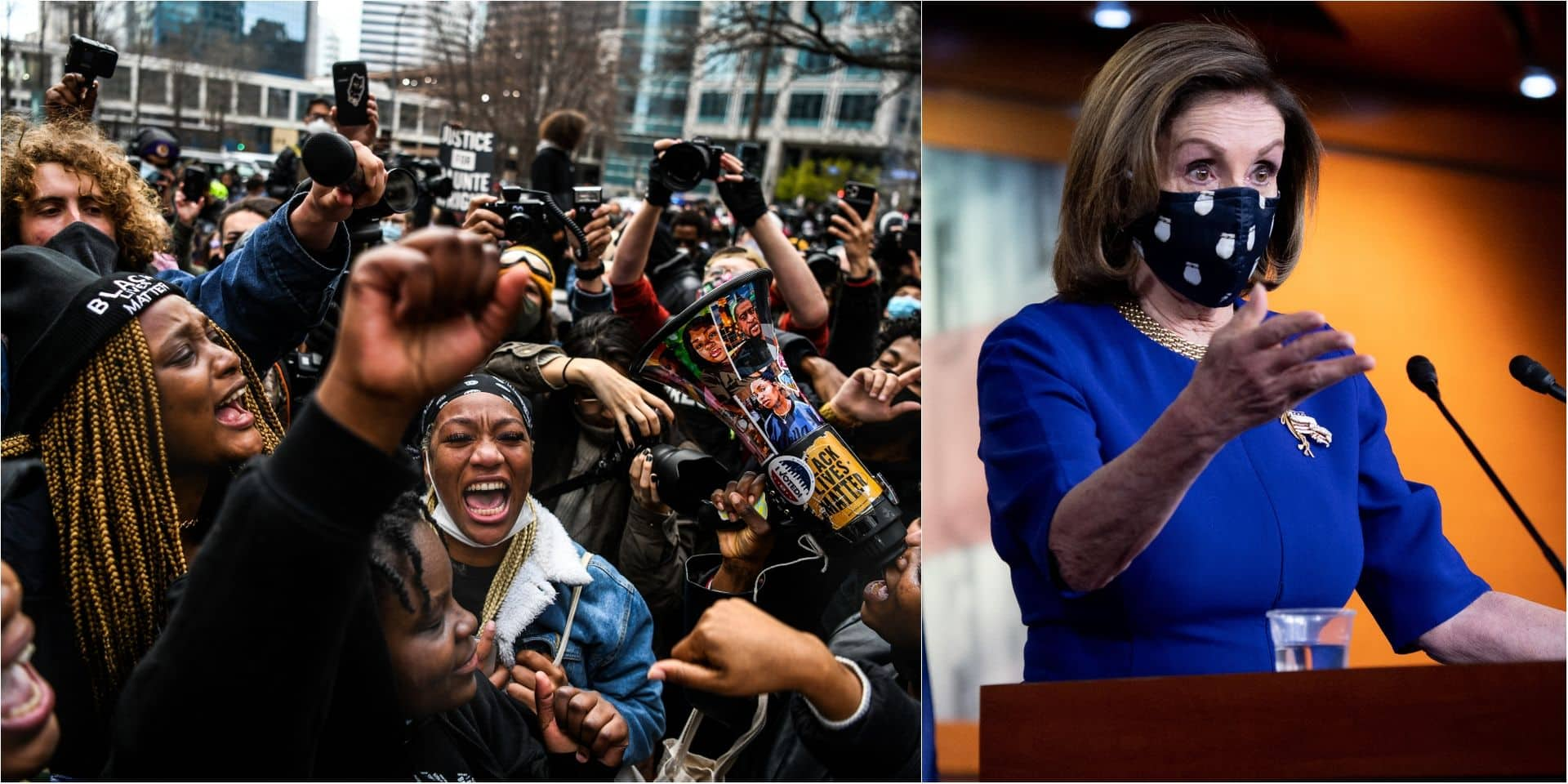"""Déclaration polémique de Nancy Pelosi sur George Floyd: """"C'est symptomatique d'une Amérique blanche qui doit encore entrer dans le 21e siècle"""""""
