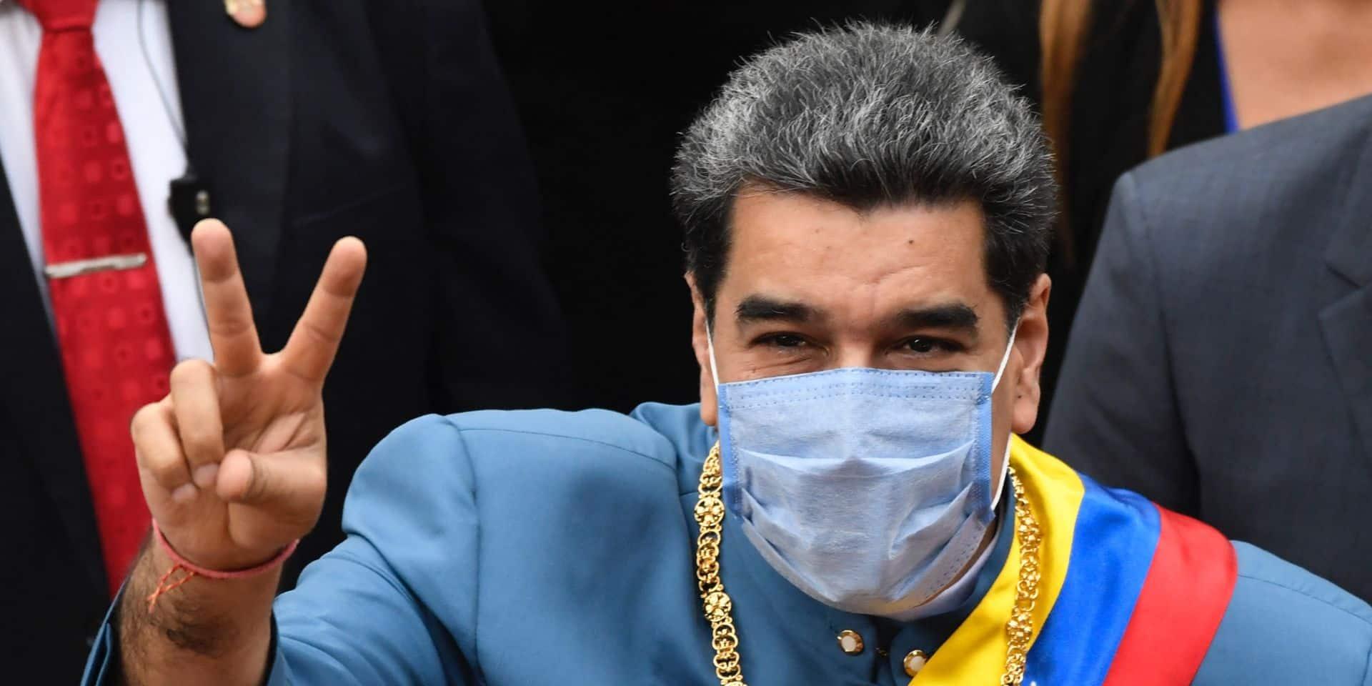 Le président Nicolas Maduro dirige le pays d'une main de fer depuis 2013.