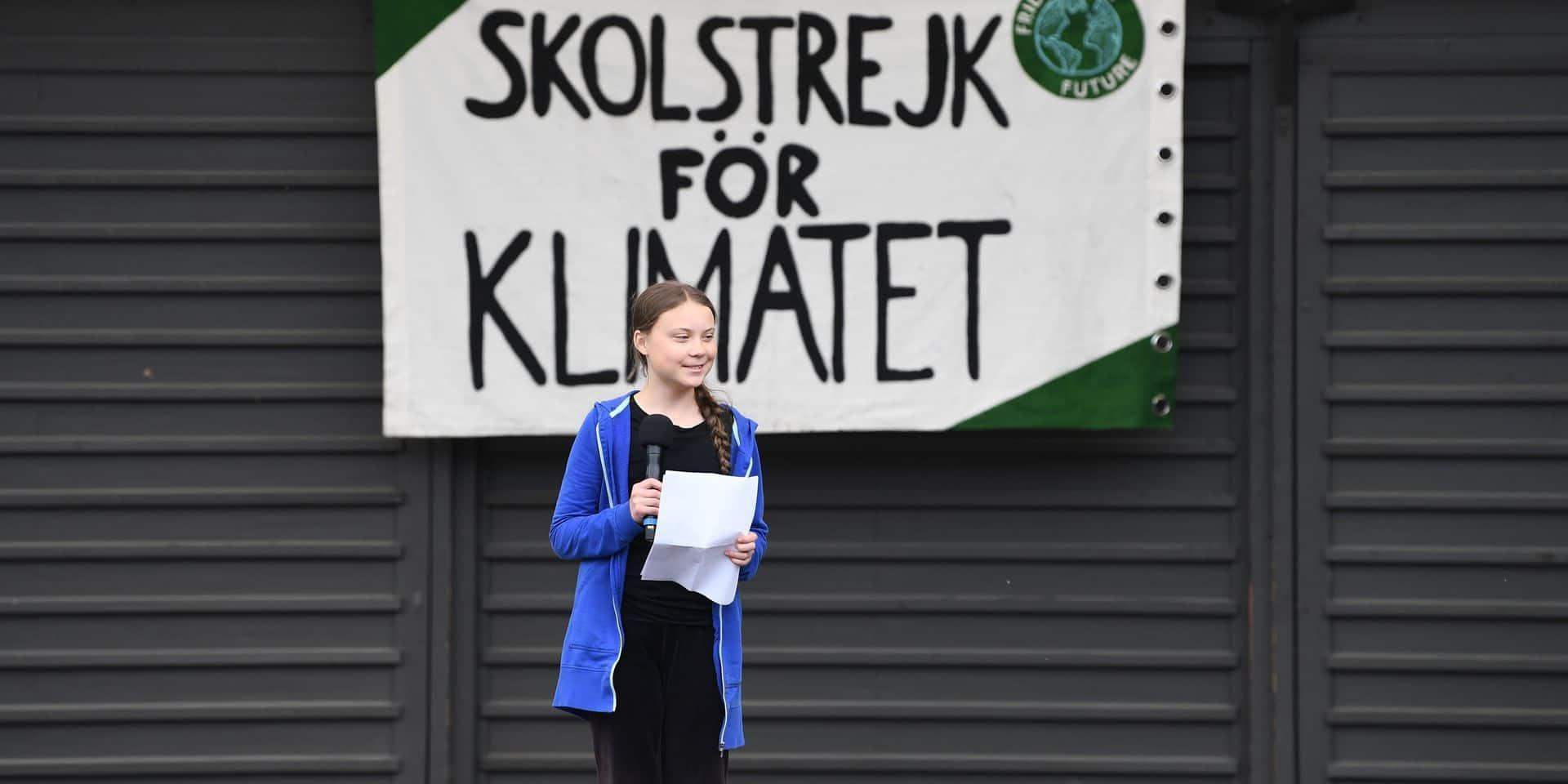 Greta Thunberg récompensée par Amnesty International