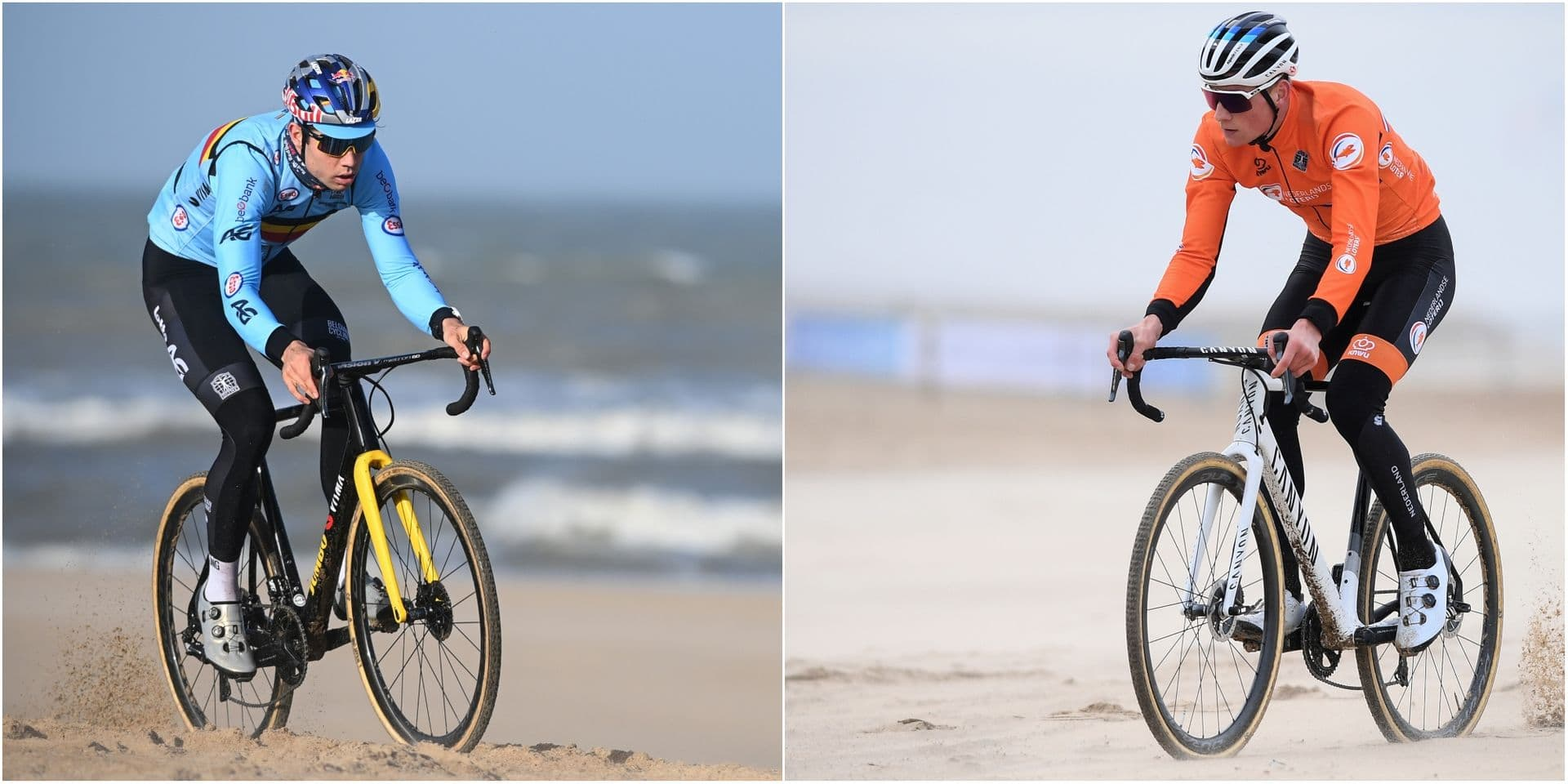 Van Aert-Van der Poel: une heure à se battre dans le sable pour un titre Mondial