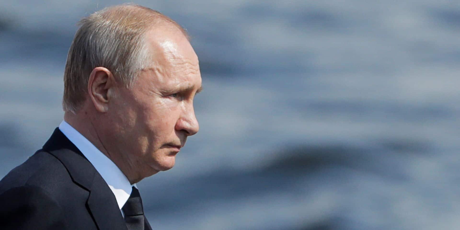 """Poutine soumet au Parlement russe le retrait du traité international """"Ciel ouvert"""""""