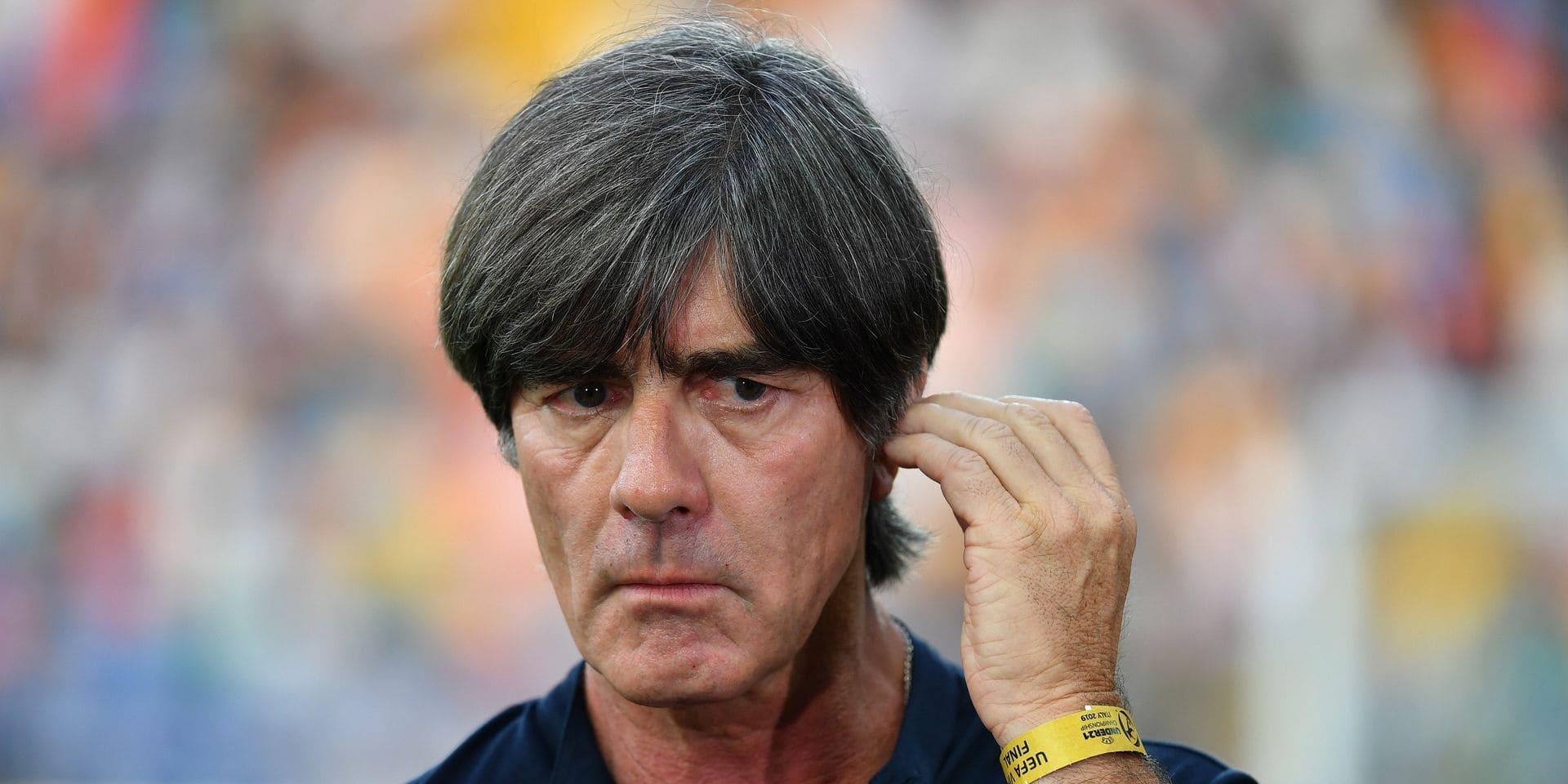 Le sélectionneur allemand Joachim Löw arrêtera après l'Euro cet été