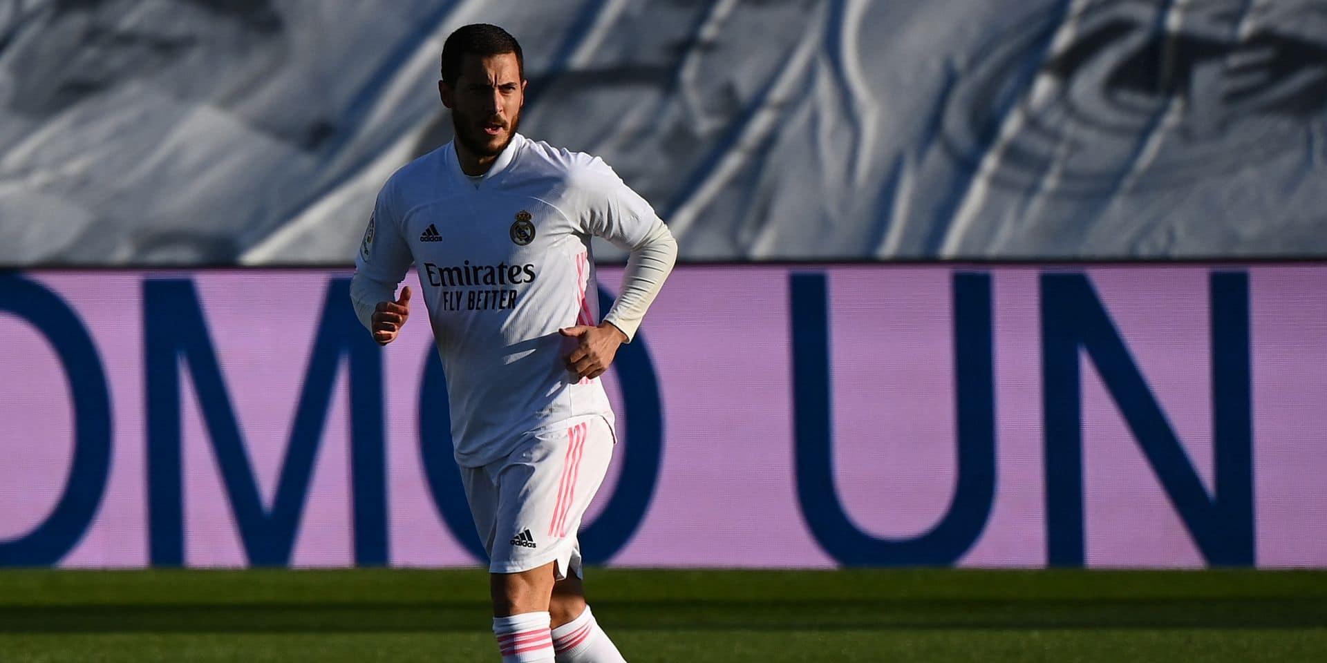 Surprise au Real Madrid: Eden Hazard présent à l'entraînement !