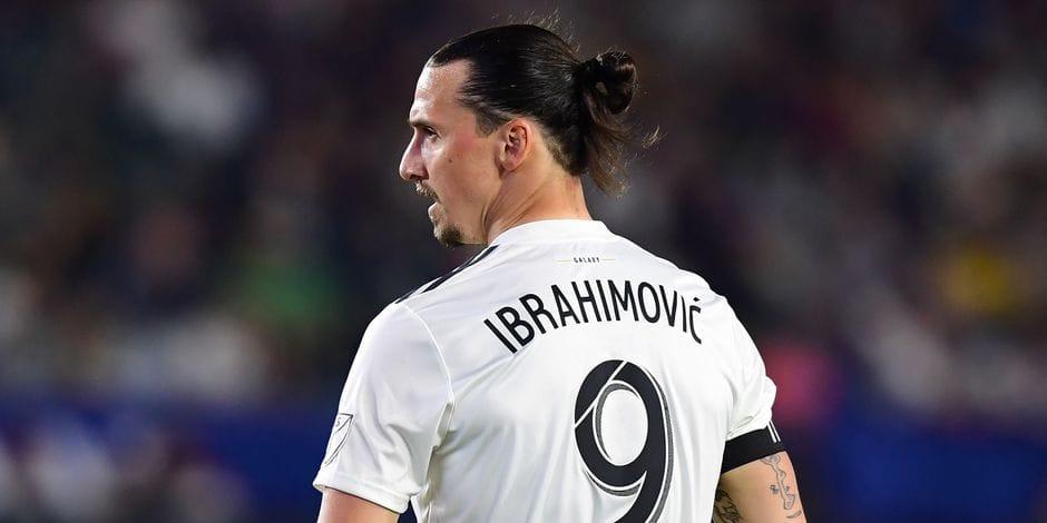 Suède : Zlatan Ibrahimovic ne participera pas à la Coupe du monde 2018