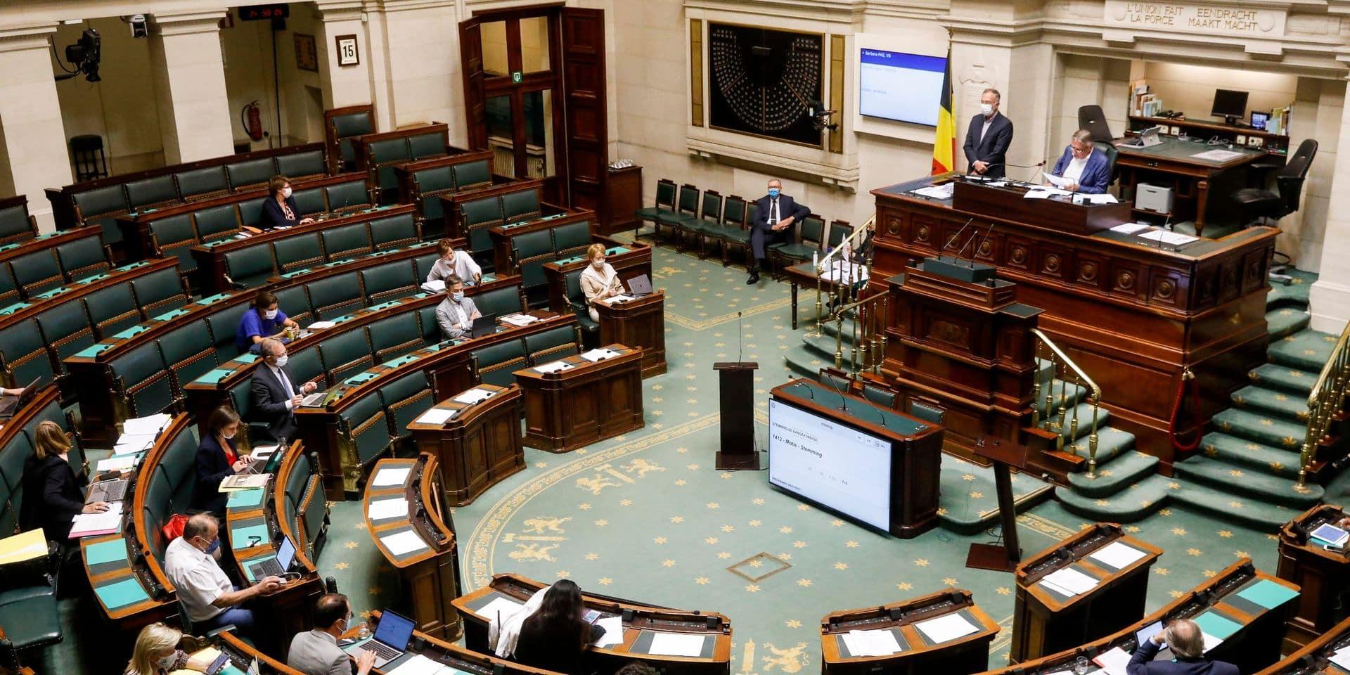 Dépénalisation de l'avortement: CD&V, N-VA et Vlaams Belang obtiennent le renvoi au Conseil d'Etat, le vote reporté à la rentrée