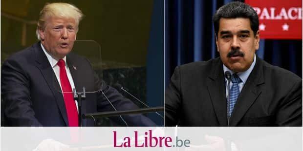 Washington sanctionne l'entourage du président vénézuélien Maduro dont son épouse