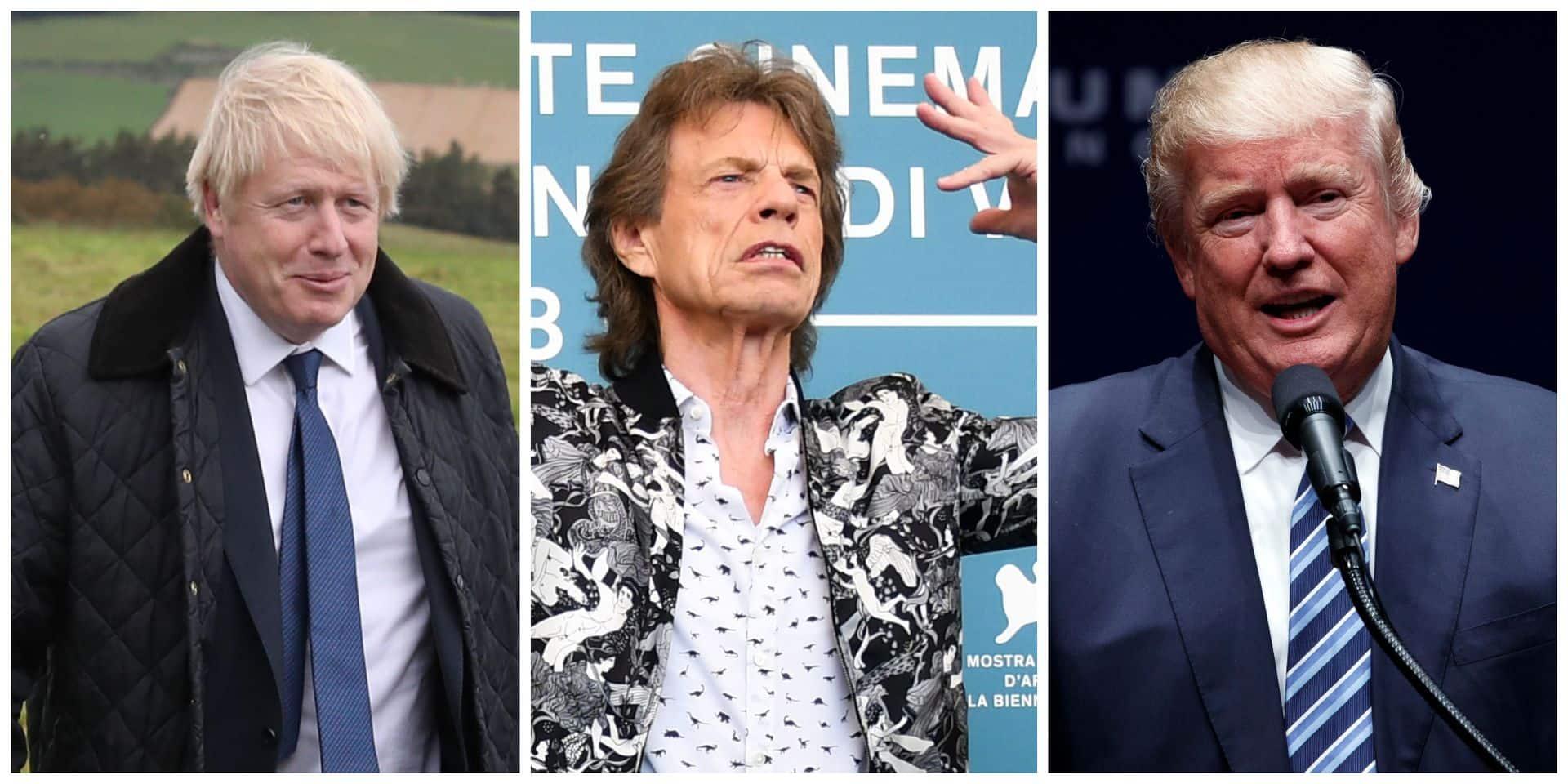 À la Mostra de Venise, Mick Jagger s'en prend à Trump et à Johnson