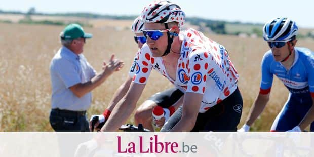 Belgian Tim Wellens of Lotto Soudal pictured in action during the fourth stage of the 106th edition of the Tour de France cycling race, 213,5 km from Reims to Nancy, Tuesday 09 July 2019. This year's Tour de France starts in Brussels and takes place from July 6th to July 28th. BELGA PHOTO YUZURU SUNADA