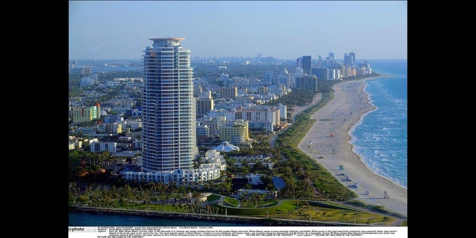 South Beach weathering Miami real estate plunge