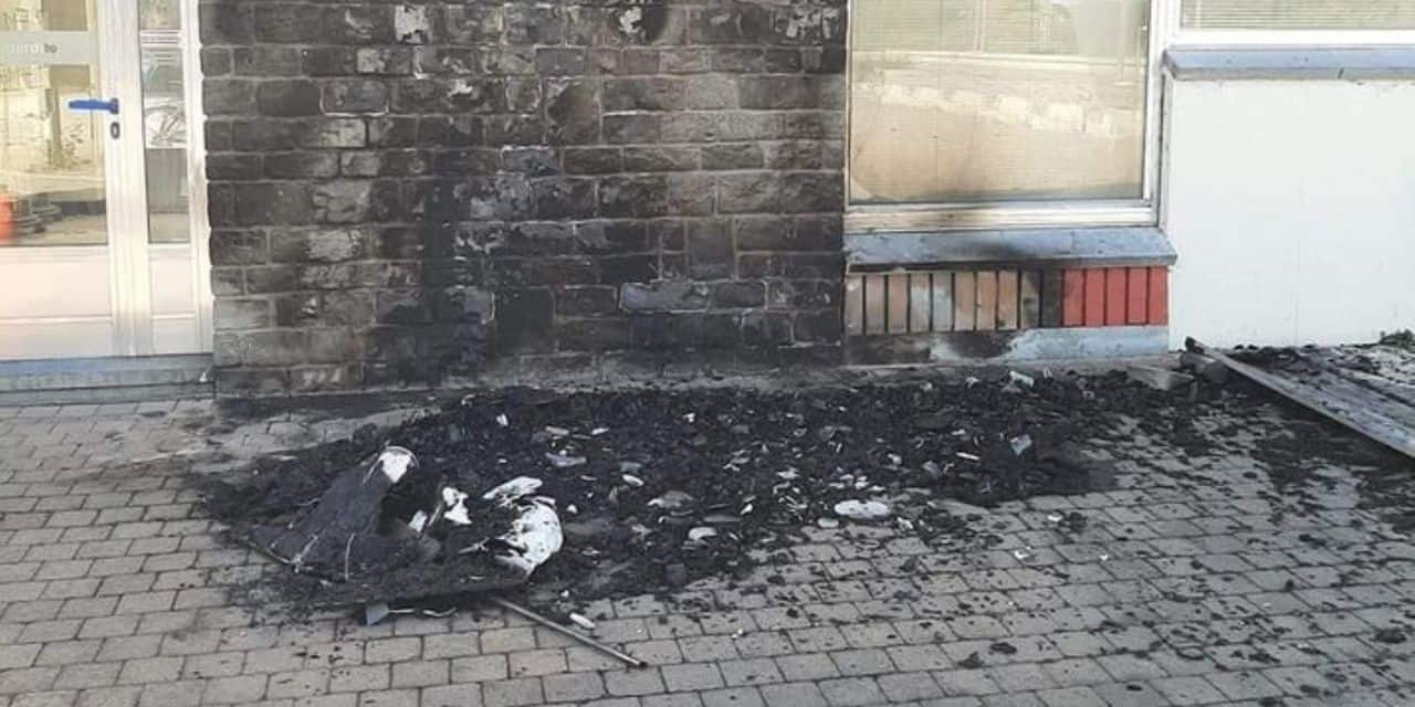 Vandalisme à Hotton : la boîte à dons incendiée
