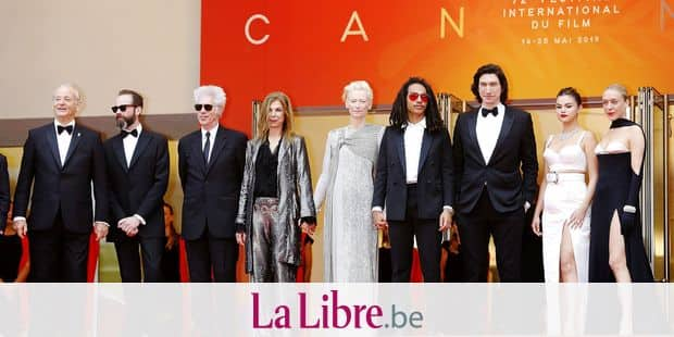 Bill Murray, Carter Logan, Jim Jarmusch, Sara Driver, Tilda Swinton, Luka Sabbat, Adam Driver, Selena Gomez and Chloe Sevigny attending the opening ceremony and screening of 'The Dead Don't Die' during the 72nd Cannes Film Festival at the Palais des Festivals on May 14, 2019 in Cannes, France | usage worldwide Reporters / DPA