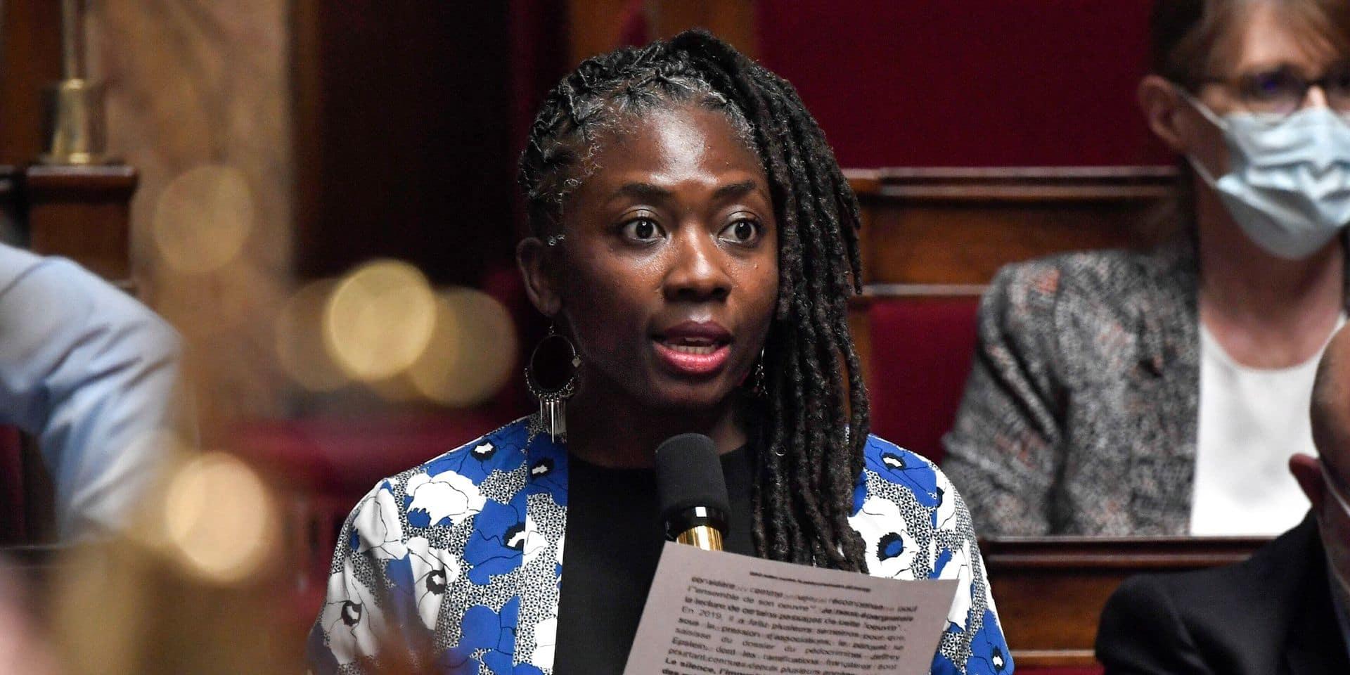 """Représentation """"abjecte et inacceptable"""", """"apologie du racisme"""": la députée française Danièle Obono en esclave dans Valeurs Actuelles"""