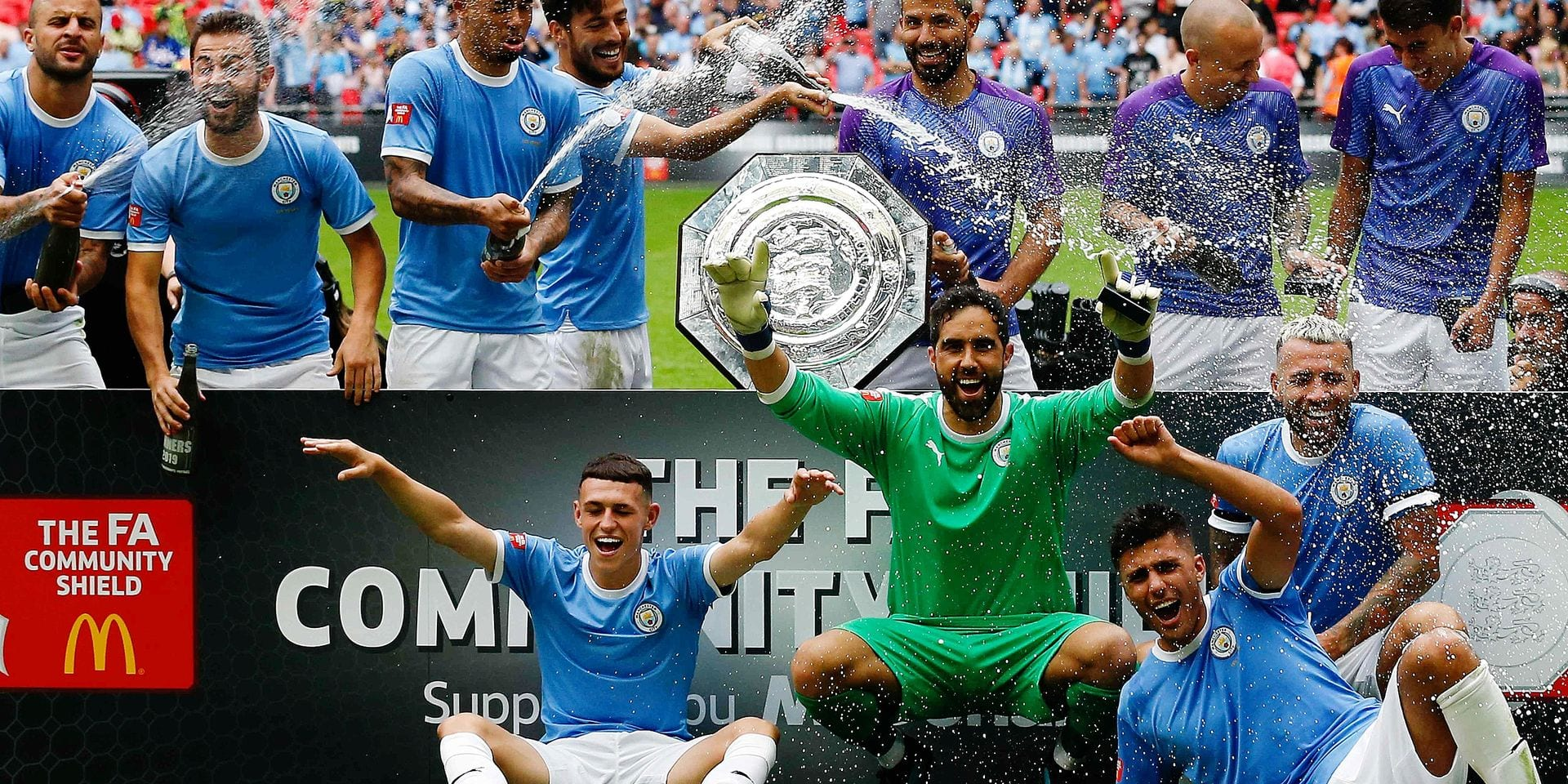 Le premier trophée pour Manchester City