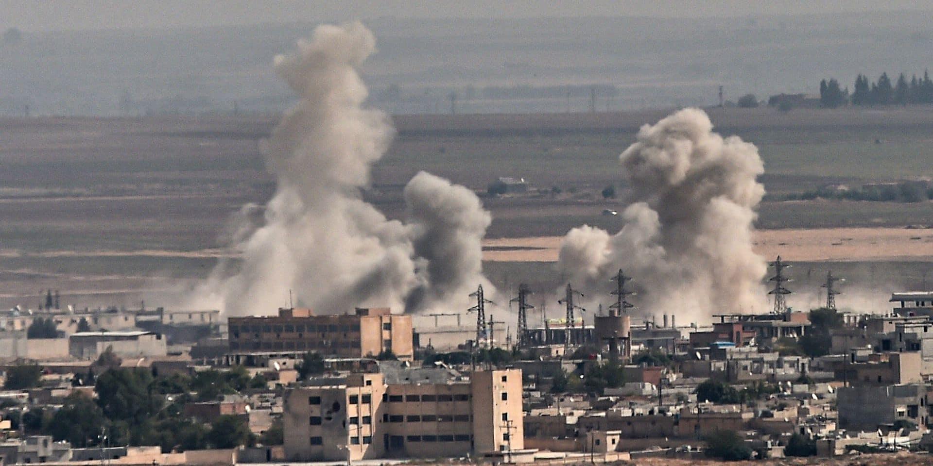 Offensive en Syrie: des troupes américaines sous le feu de positions turques