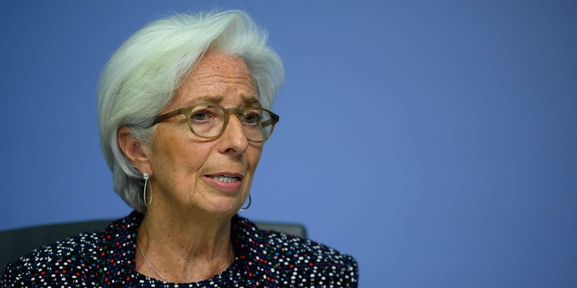 La BCE prête à renforcer son arsenal anti-crise face au coronavirus