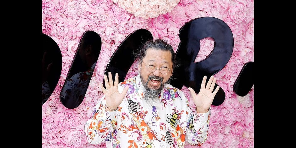 Japanese artist Takashi Murakami attends the Dior Men's Spring/Summer 2019 fashion show on June 23, 2018 in Paris. / AFP PHOTO / FRANCOIS GUILLOT