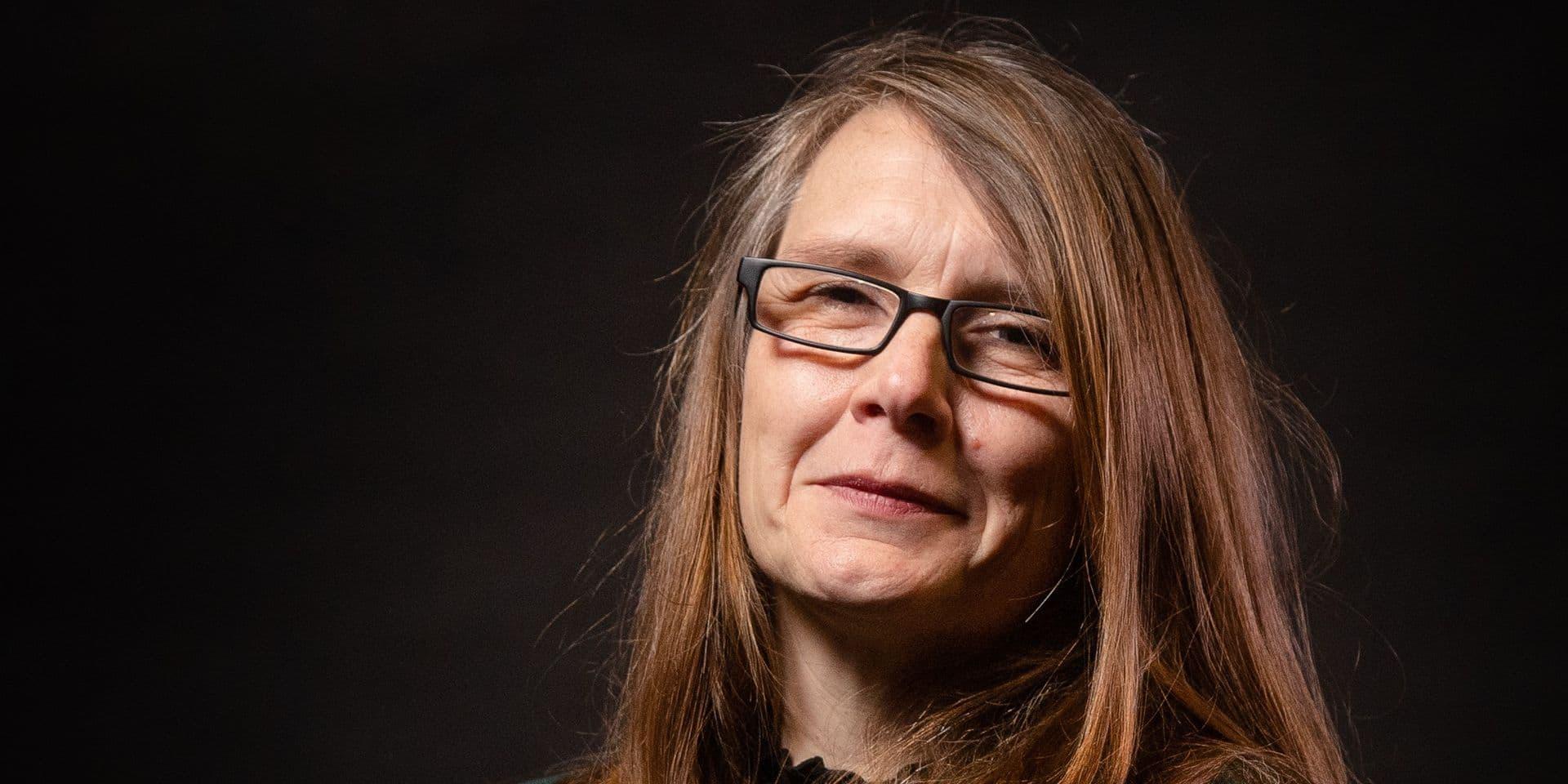 Bruxelles - Siege IPM: Anne-Emmanuelle Bourgaux, constitutionnaliste et professeur de droit a Bruxelles le jeudi 18 fevrier 2021