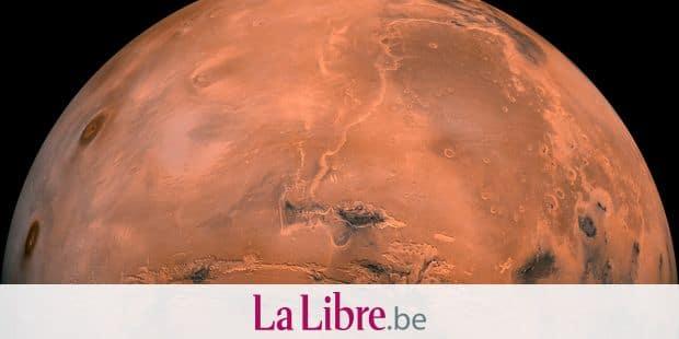 Un lac de glace photographié sur la planète Mars — Inédit