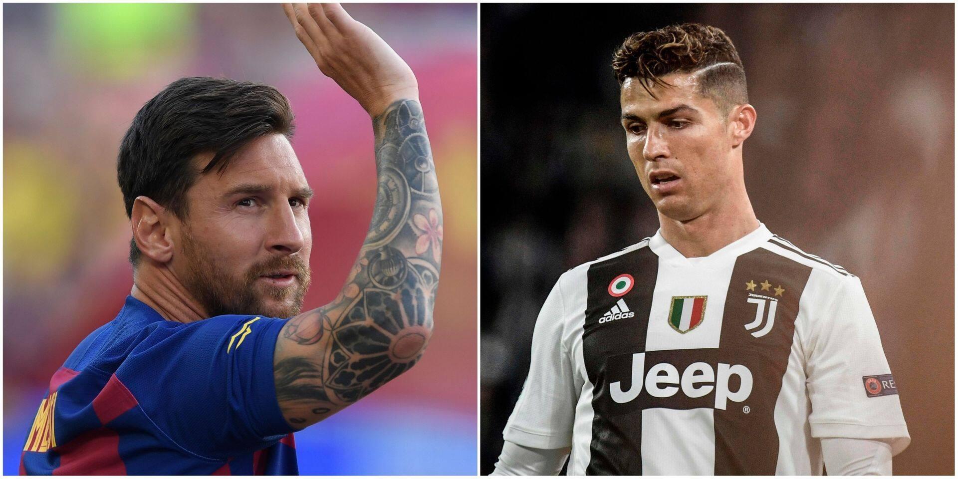 """Comment la Juventus a tenté """"une approche discrète"""" pour faire venir Messi jouer aux côtés de Ronaldo"""