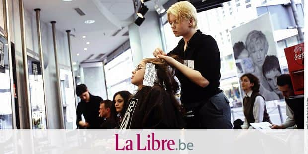 Germany, Duesseldorf, Nordrhein-Westfalen, Essanelle Hair Group, hairdresser
