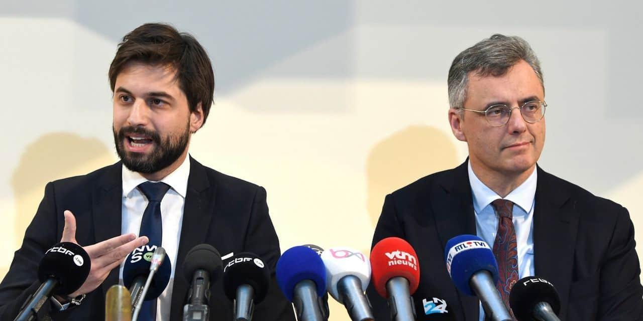"Le scénario privilégié au fédéral ? La coalition ""Vivaldi"""