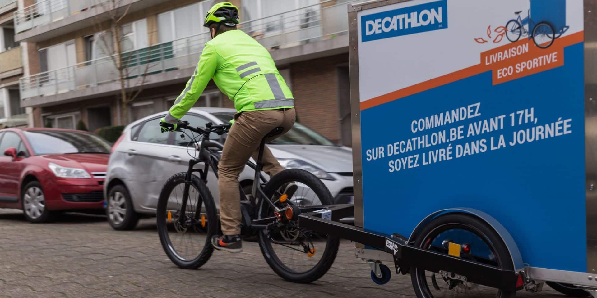 Les vélos cargos pourraient remplacer la moitié des camions de marchandise à Bruxelles