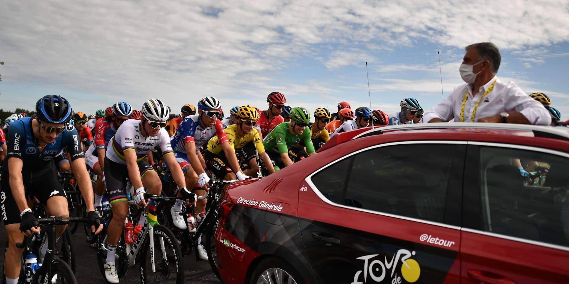 Tour de France: aucun coureur n'a été testé positif au Covid-19 lors de la seconde batterie de tests