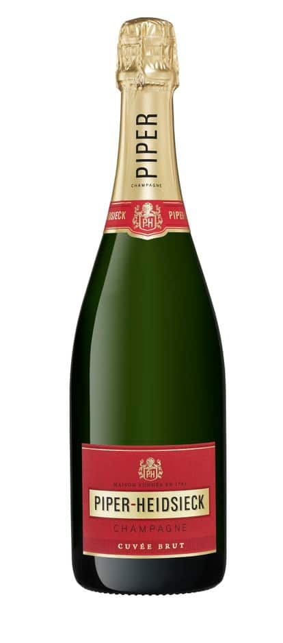 Ce soir, c'est champagne ! Du Piper Heidsieck brut ou Rosé Sauvage. Env. 35€