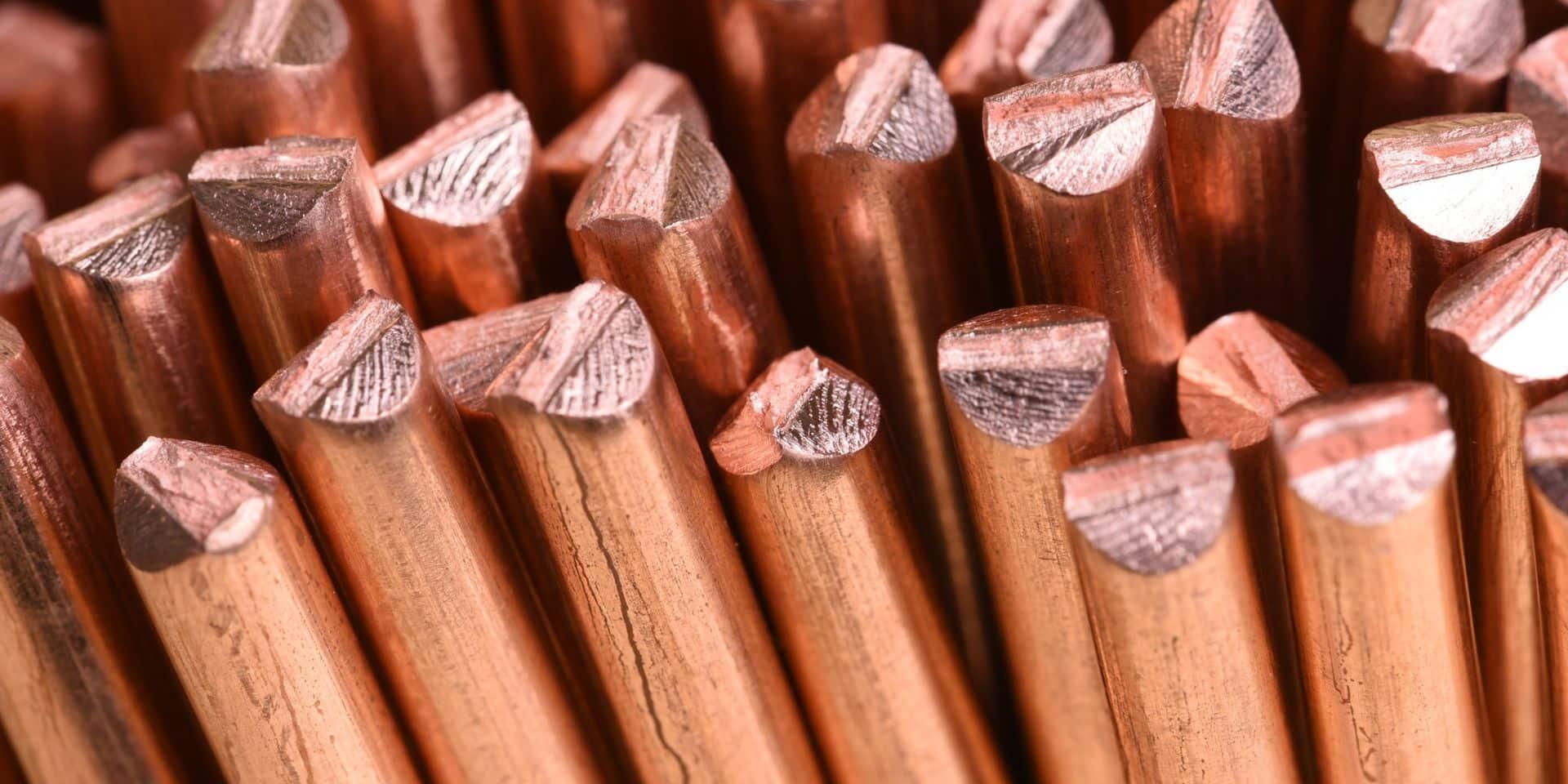 Le cuivre se transforme en or rouge pour certains.