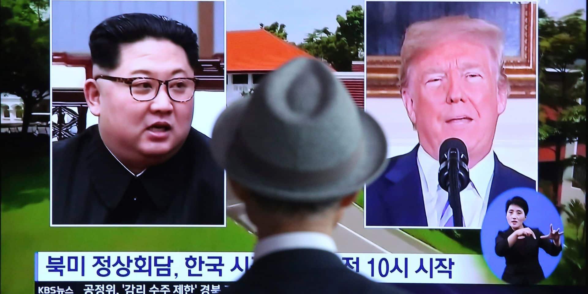 Entre Washington et Pyongyang, l'impossible confiance