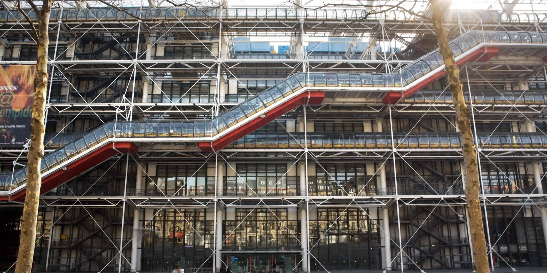 Le Centre Pompidou va fermer pour un grand lifting de plus de trois ans