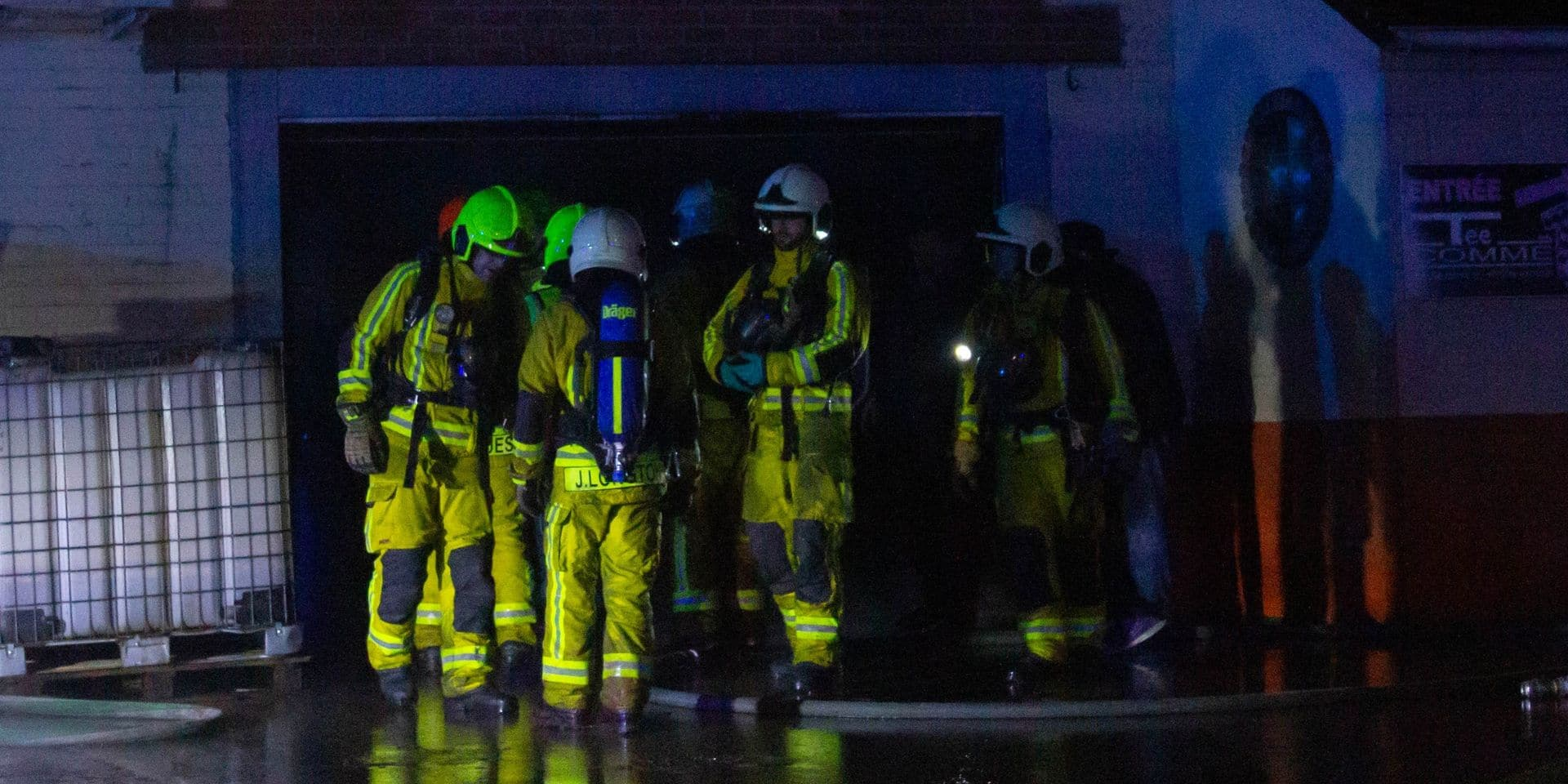 Deux personnes intoxiquées lors d'un incendie à Chênée