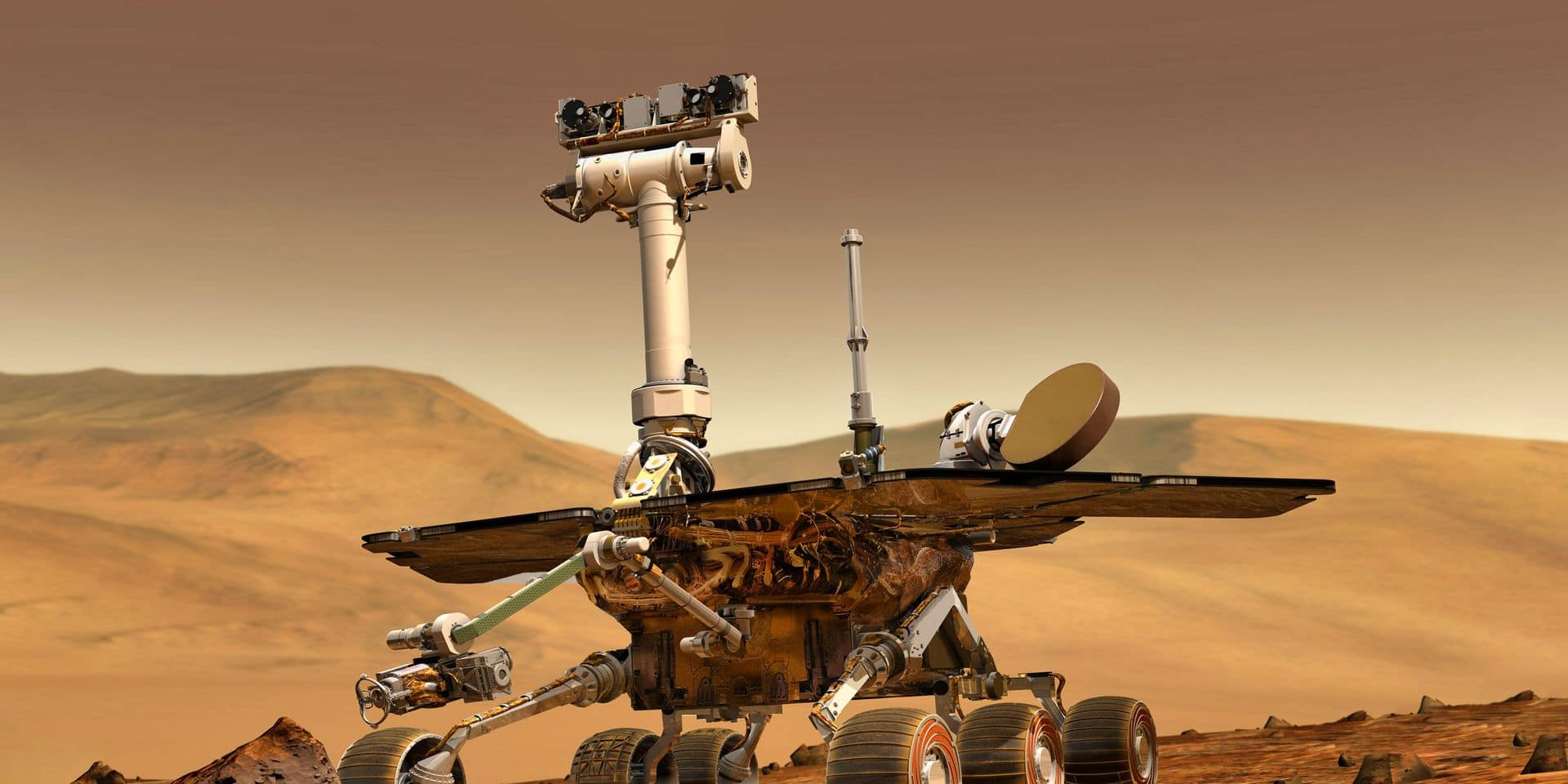 Mars,Explore,Mission.,The,Perseverance,Rover,Deploys,Its,Equipment,Against