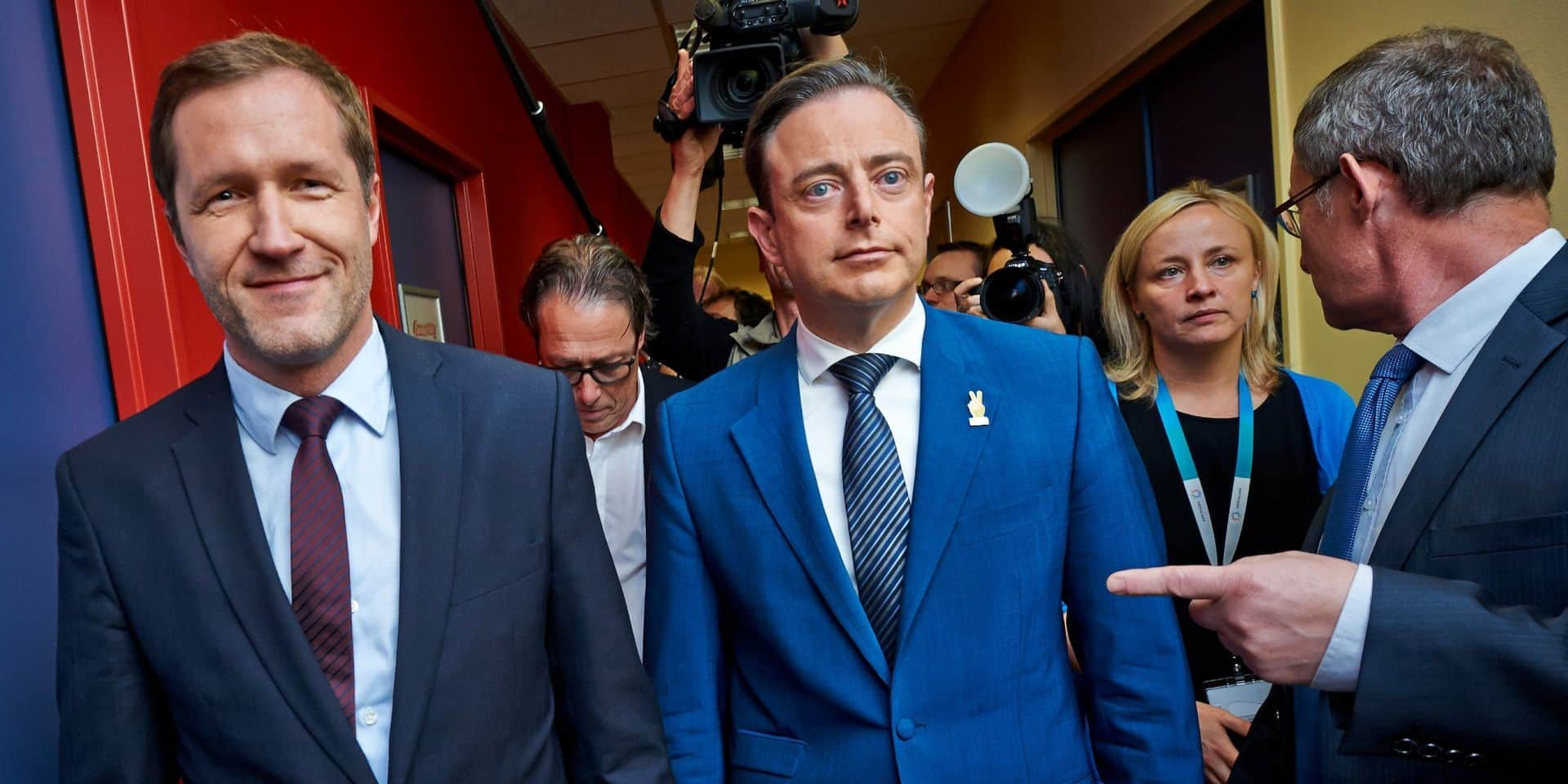 Bart De Wever et Paul Magnette examinent leur collaboration
