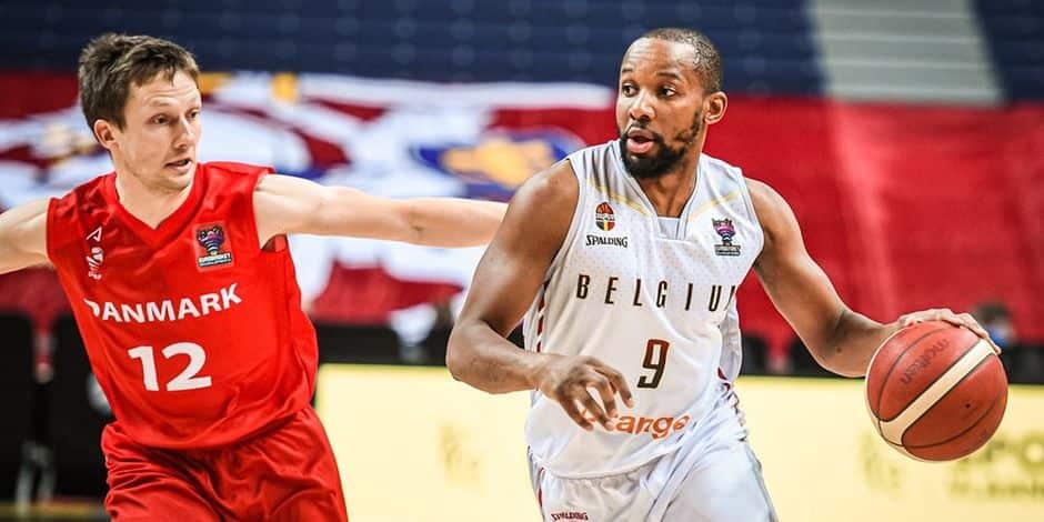 Basket : la Belgique vient facilement à bout du Danemark (88-65) et valide son ticket pour l'Euro