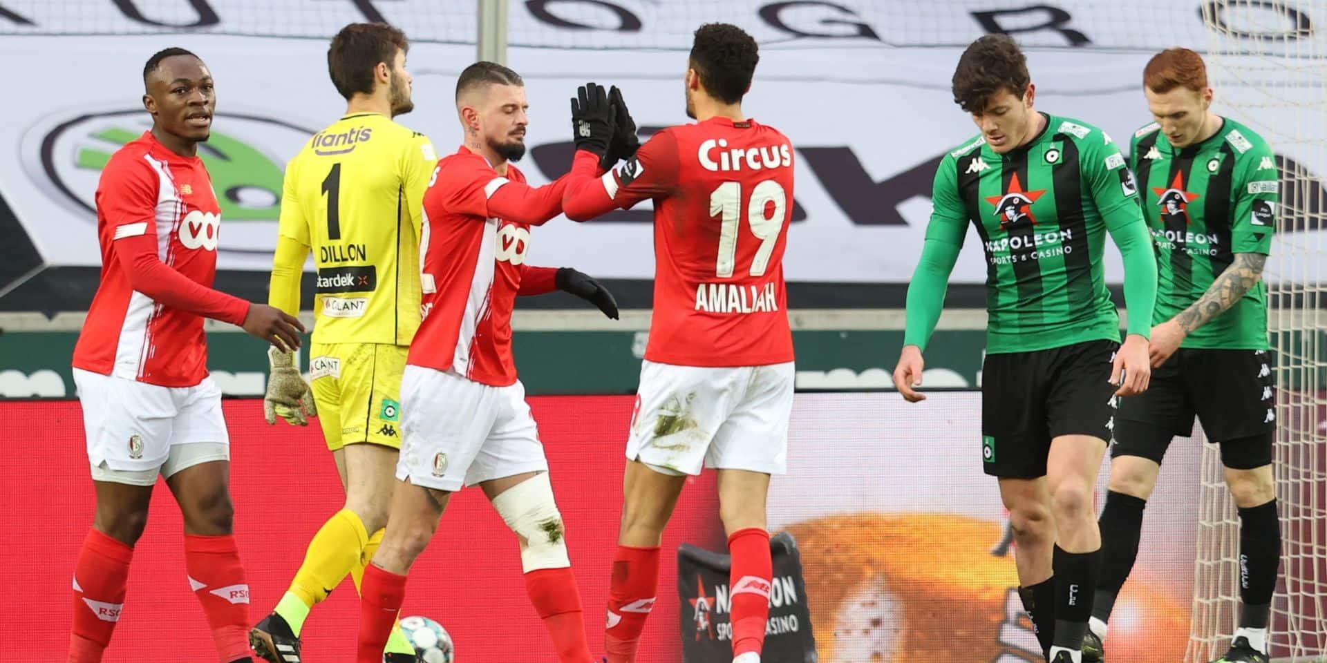Le Standard s'impose au Cercle grâce à Lestienne et revient à deux points du top 4 (0-1)