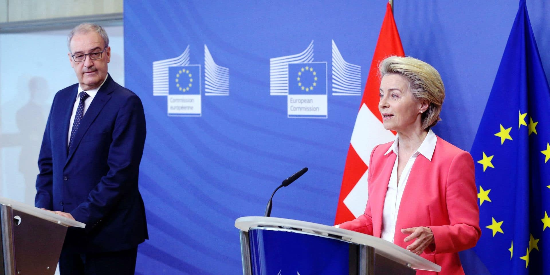 Les relations entre l'Union européenne et la Suisse sont coincées dans un tunnel