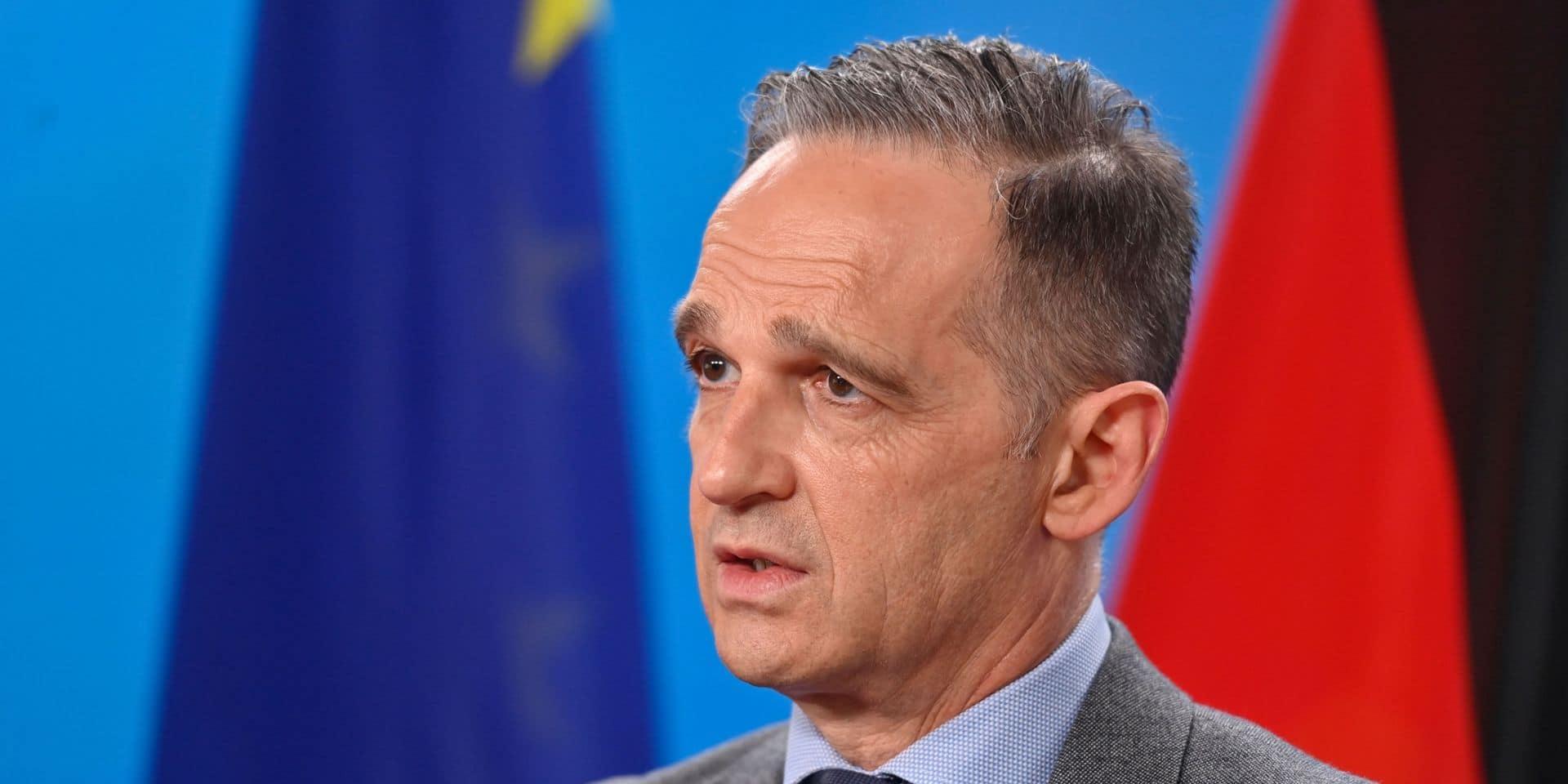"""L'Allemagne exprime sa """"solidarité"""" avec Israël, appelle à un cessez-le feu urgent"""