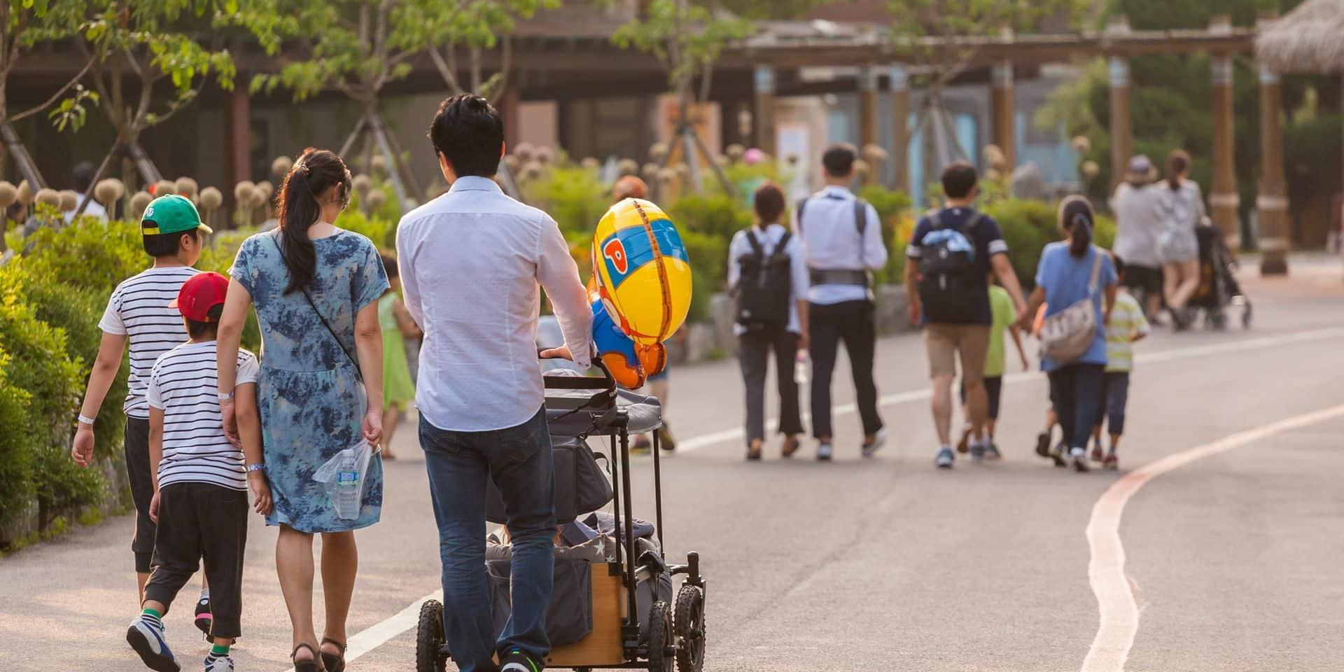 La Corée du Sud enregistre pour la première fois une baisse de sa population