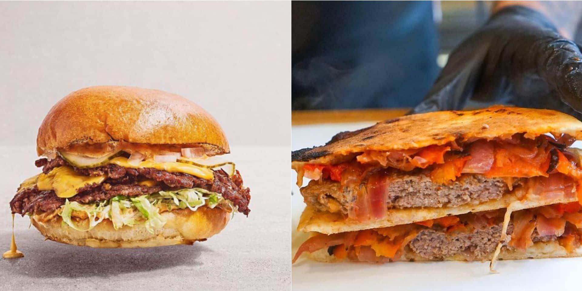 Pains syriens, burgers smashés : deux nouvelles cantines cartonnent à Bruxelles avec leurs plats à emporter