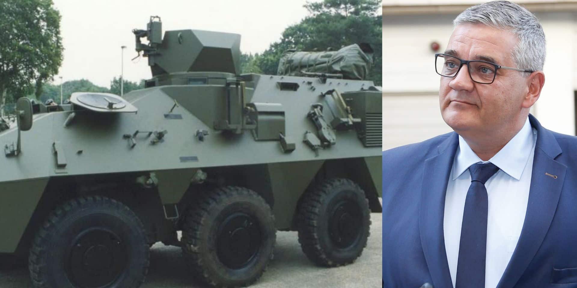 L'armée belge a investi 31 millions d'euros pour moderniser des véhicules blindés... ce qui les a rendus finalement inutilisables