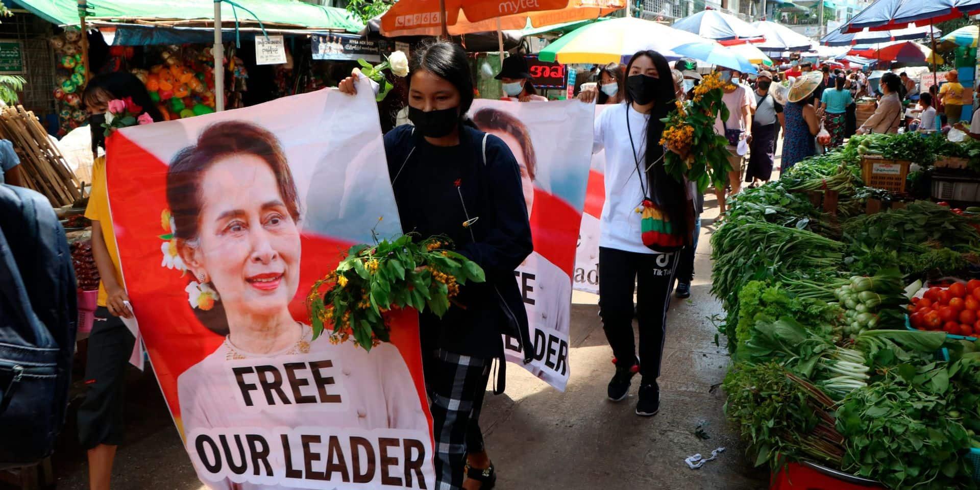 Birmanie: Aung San Suu Kyi visée par de nouvelles poursuites pénales