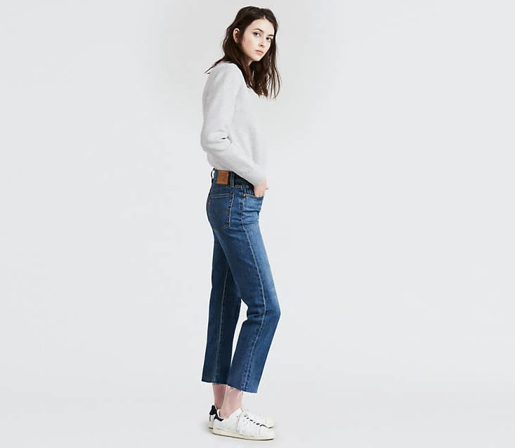 Wedgie Straight Jeans,                                              Levi's, 119 euros