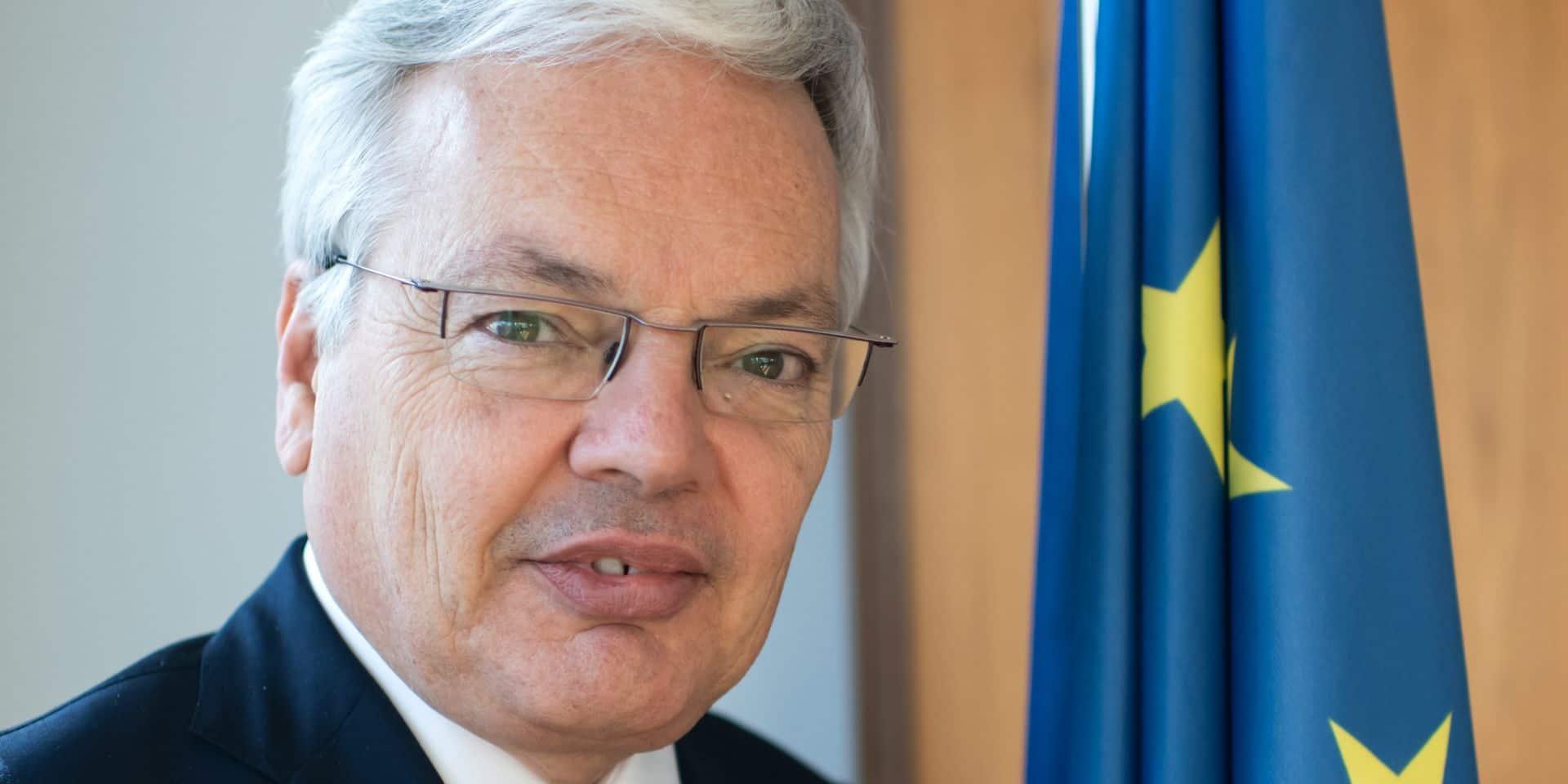 """Didier Reynders sur la situation en Hongrie: """"Il faut que les États membres se saisissent"""" de la question de l'état de droit"""