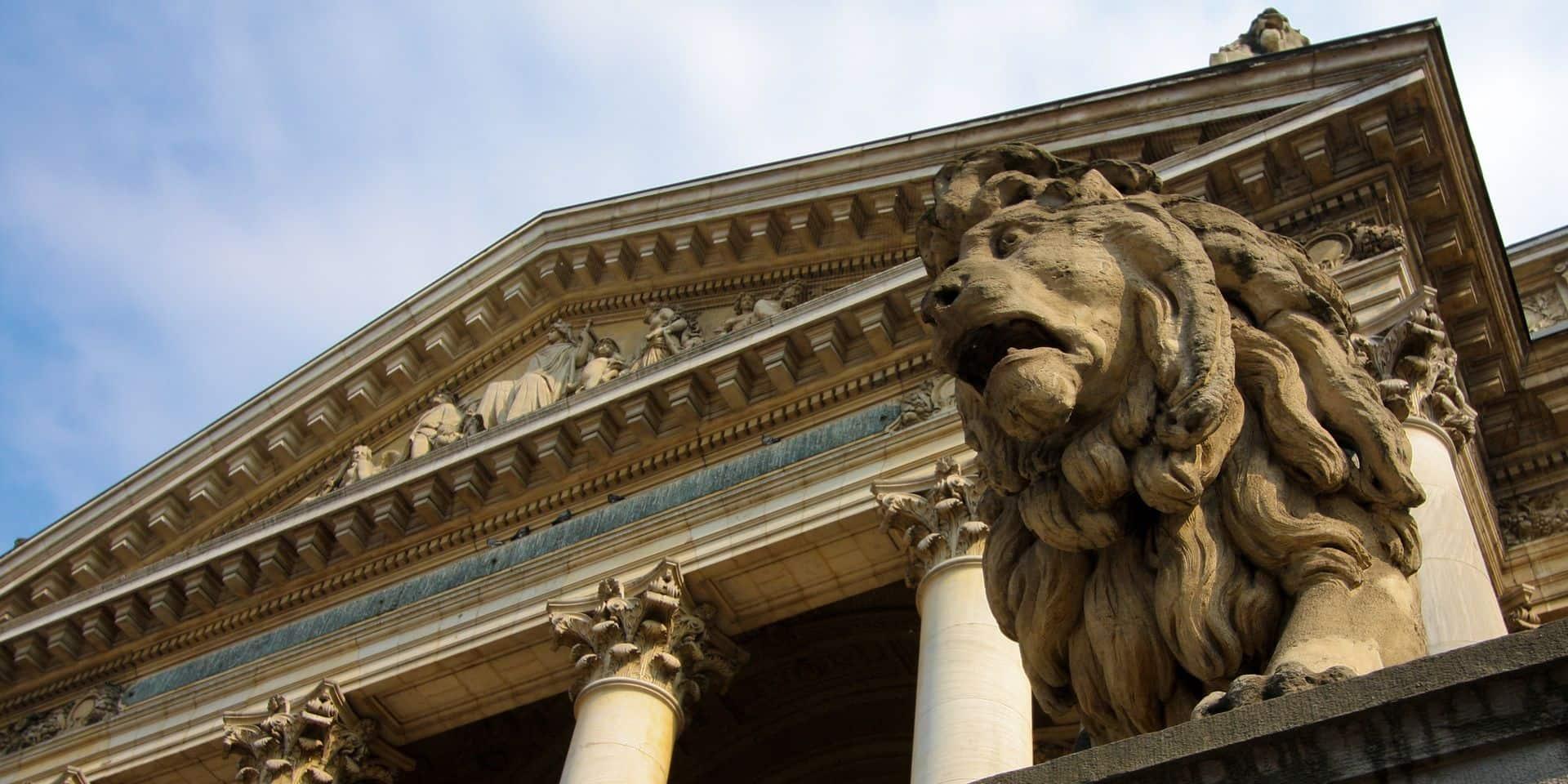 L'indice Bel-20 de la Bourse de Bruxelles a repassé la barre de 4000 points lundi.