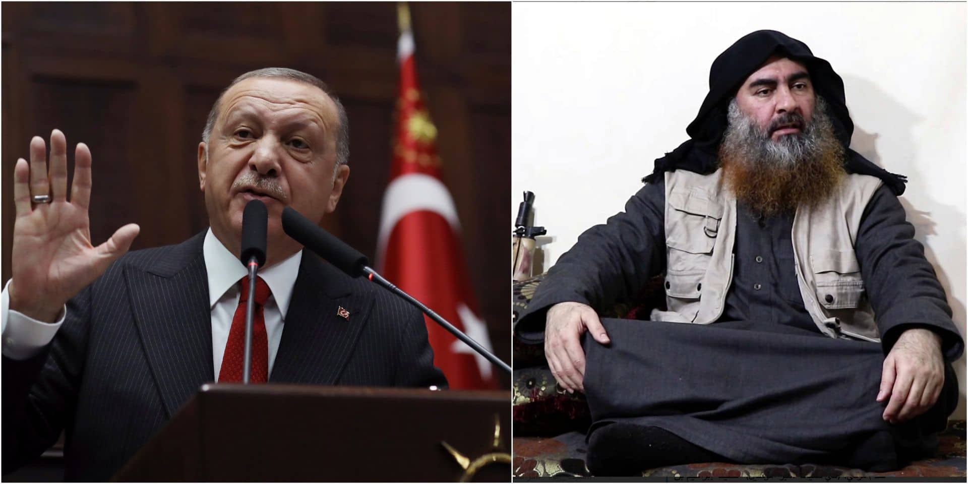 Chef du groupe de l'Etat islamique tué: Erdogan affirme que la Turquie a arrêté la femme de Baghdadi